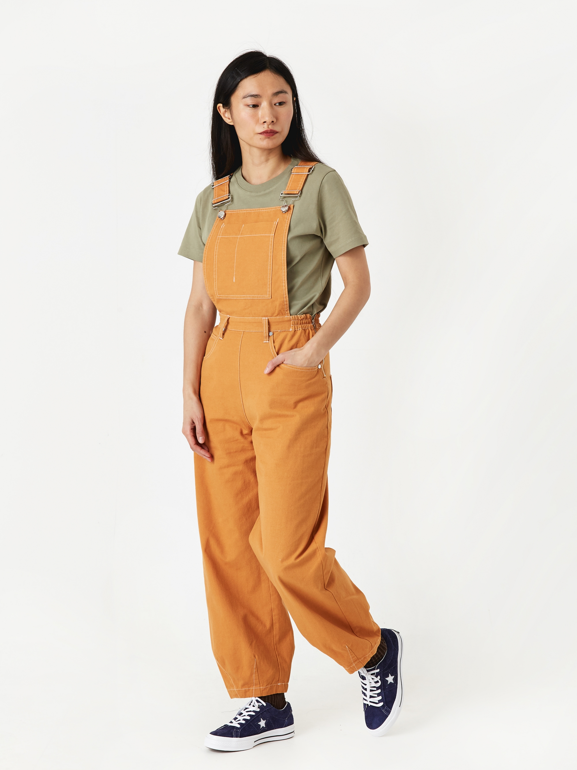 01a394d4fdb LF Markey Fat Boy Dungaree - Camel