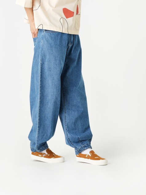 Fat Boy Jeans - Mid Blue