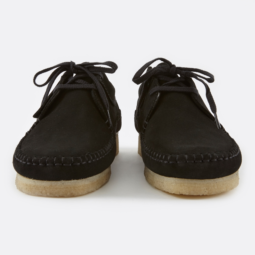 durable modeling official site 100% authenticated Clarks Weaver - Black Suede