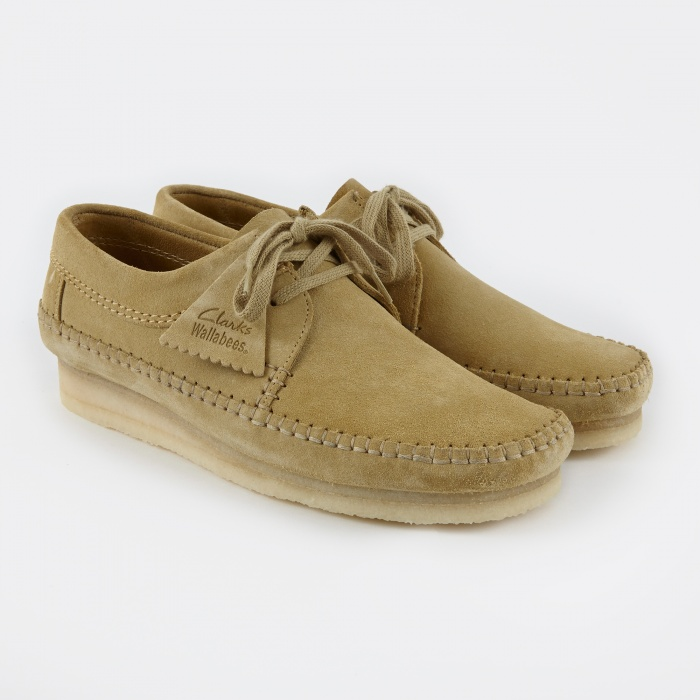 Clarks Originals Clarks Weaver - Maple Suede (Image 1)