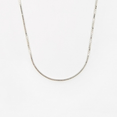 Goods by Goodhood Venetian Chain / Silver / 1.5mm Gauge / 50cm