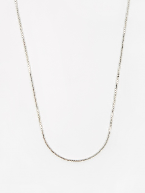 Venetian Chain / Silver / 1.5mm Gauge / 60cm