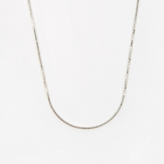 Goods by Goodhood Venetian Chain / Silver / 1.5mm Gauge / 60cm
