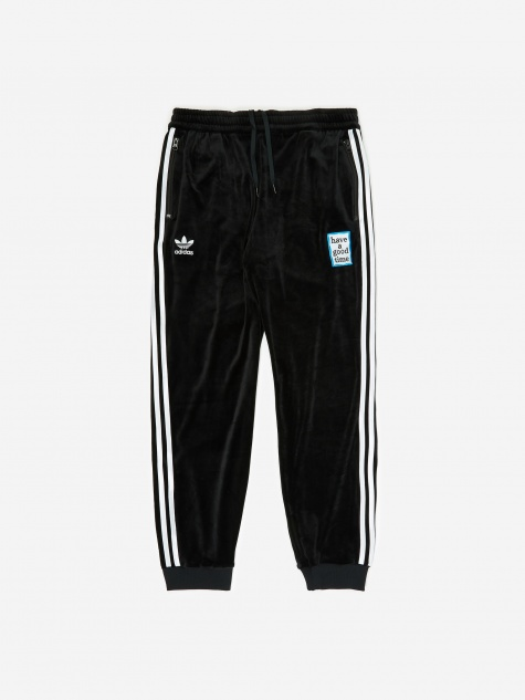 x Have A Good Time Velour Track Pant - Black