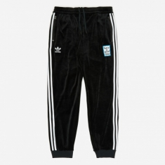 Adidas x Have A Good Time Velour Track Pant - Black
