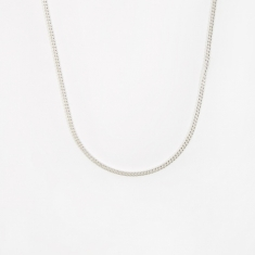Goods by Goodhood Curb Chain / Silver / 2.1mm Gauge / 50cm