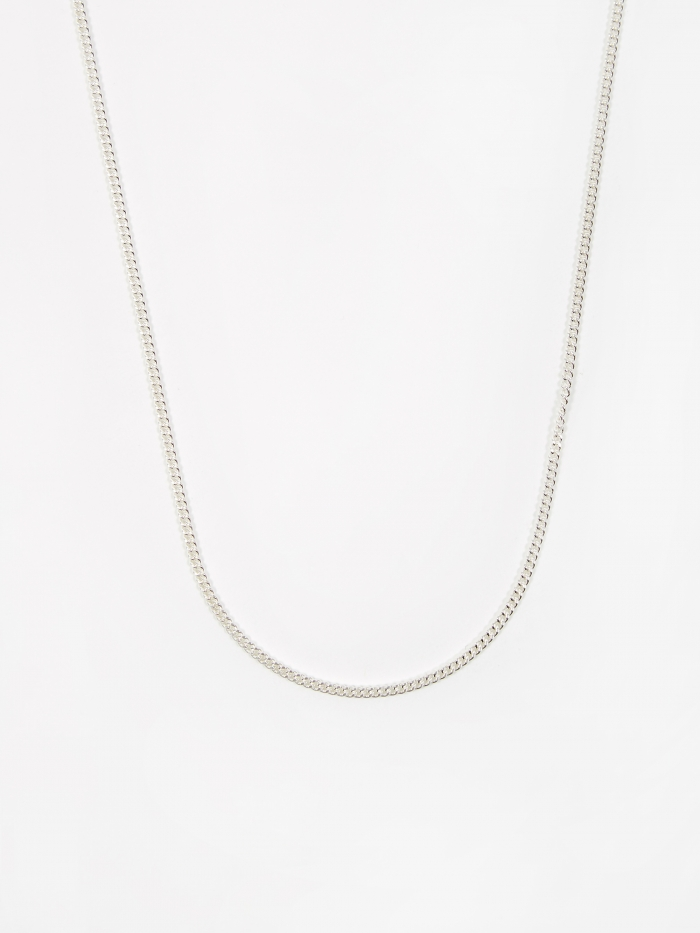 Goods By Goodhood Curb Chain / Silver / 2.1mm Gauge / 50cm (Image 1)