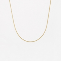 Goods by Goodhood Curb Chain / Gold / 1.2mm Gauge / 50cm