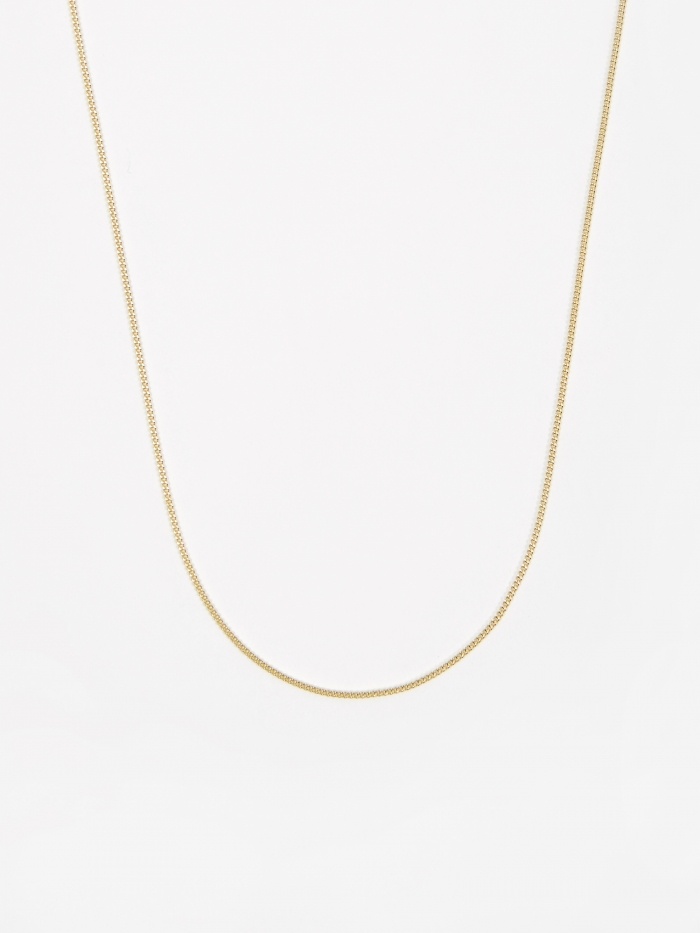 Goods By Goodhood Curb Chain / Gold / 1.2mm Gauge / 50cm (Image 1)