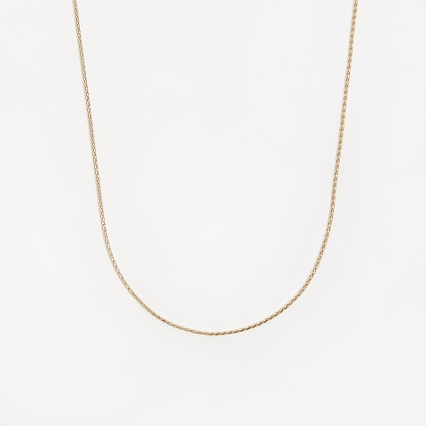Round Spiga Chain / Gold / 0.9mm Gauge / 60cm
