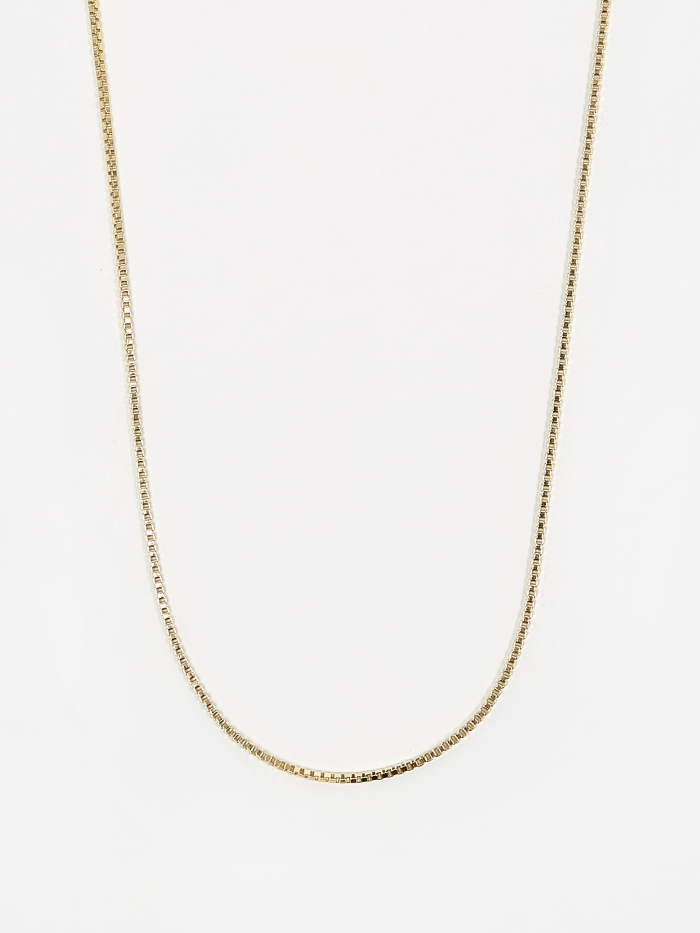 Goods By Goodhood Venetian Chain / Gold / 1.3mm Gauge / 60cm (Image 1)