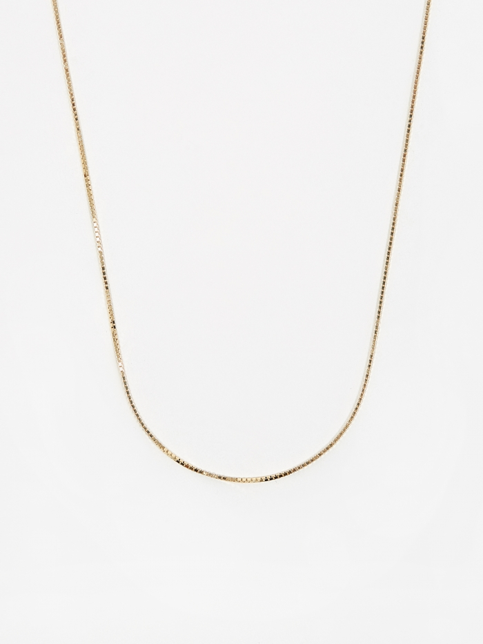 Goods By Goodhood Venetian Chain / Gold / 1.3mm Gauge / 50cm (Image 1)