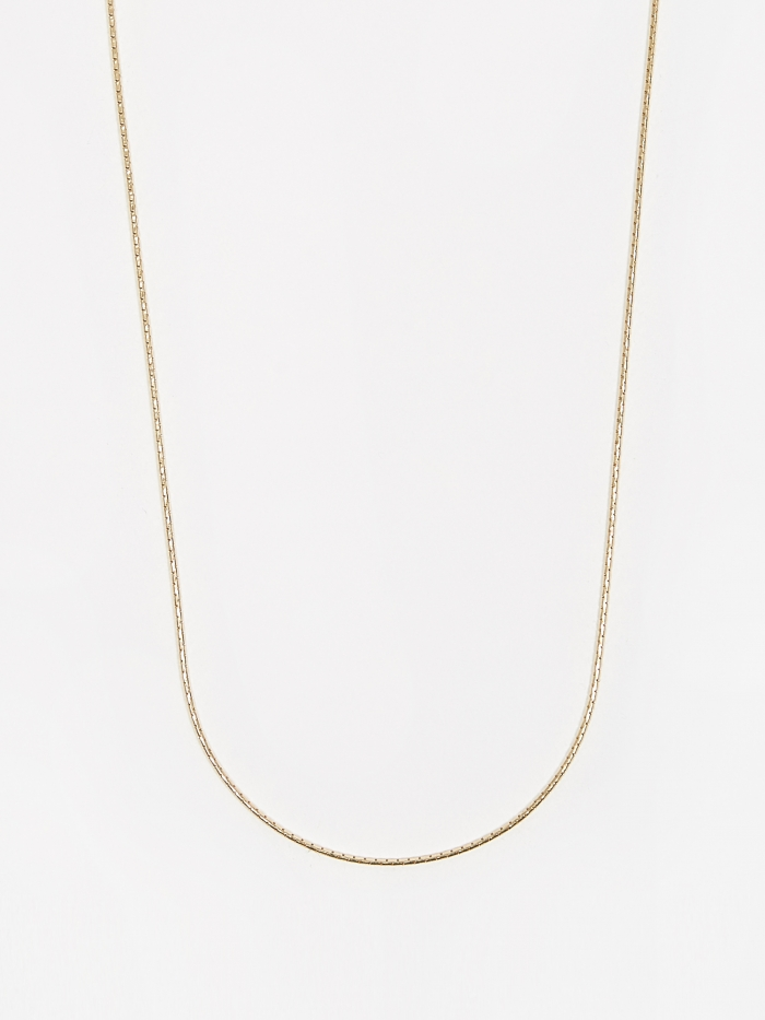 Goods By Goodhood Anaconda Chain / Gold / 1.1mm Gauge / 60cm (Image 1)