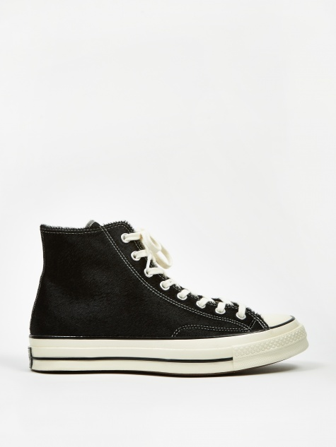 Chuck Taylor All Star 70 Hi - Black Pony