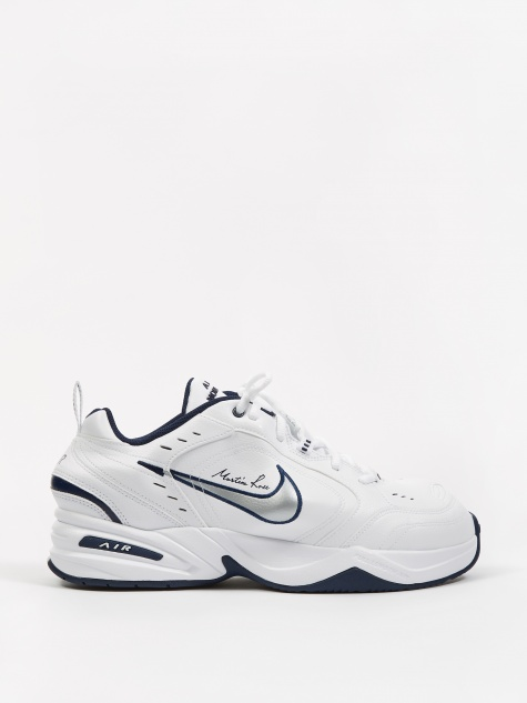 new arrivals 83380 0e88d x Martine Rose Air Monarch IV - White Metallic Silver-Midni