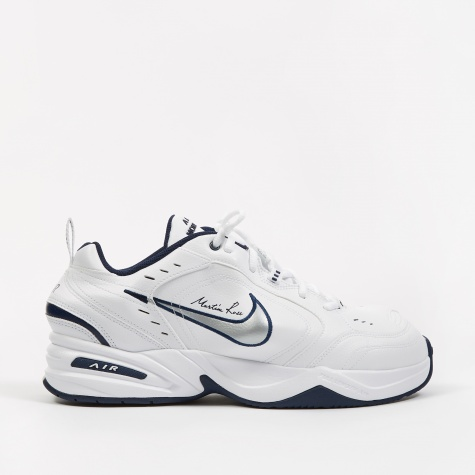 x Martine Rose Air Monarch IV - White/Metallic Silver-Midni