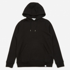 Norse Projects Vagn Classic Hooded Sweatshirt - Black