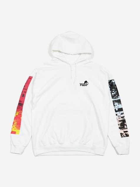 Scorpion Hooded Sweatshirt - White