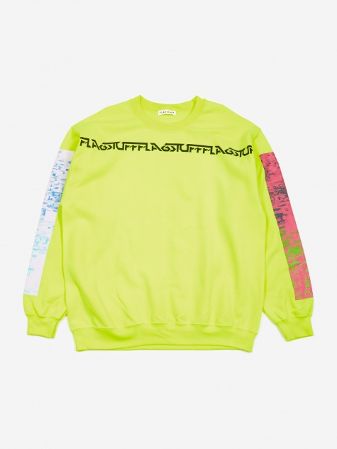 Noise Crewneck Sweatshirt - Yellow
