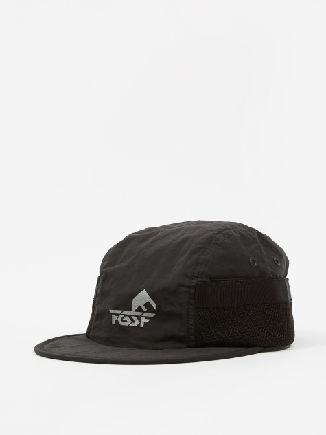 Side Mesh Cap - Black