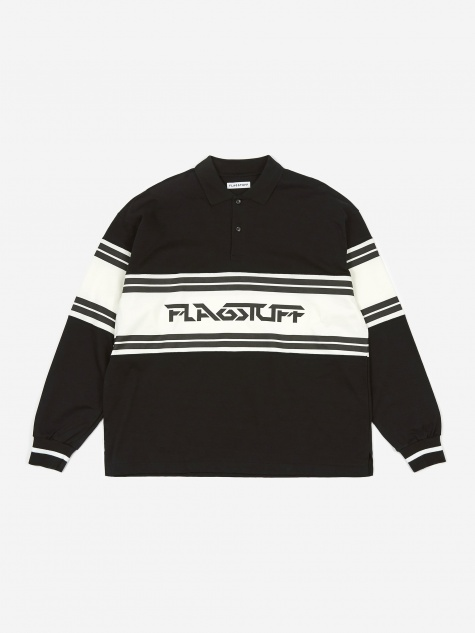 Longsleeve Polo Shirt - Black