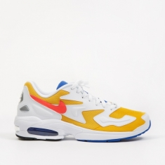 Nike Air Max 2 Light - University Gold/Flash Crimson-Racer Blue