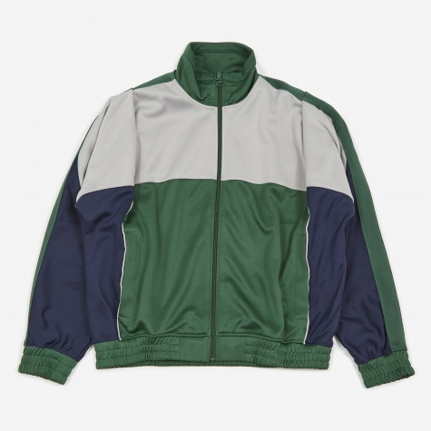 x Martine Rose Track Jacket - Fir/Atmosphere Grey/Blackened