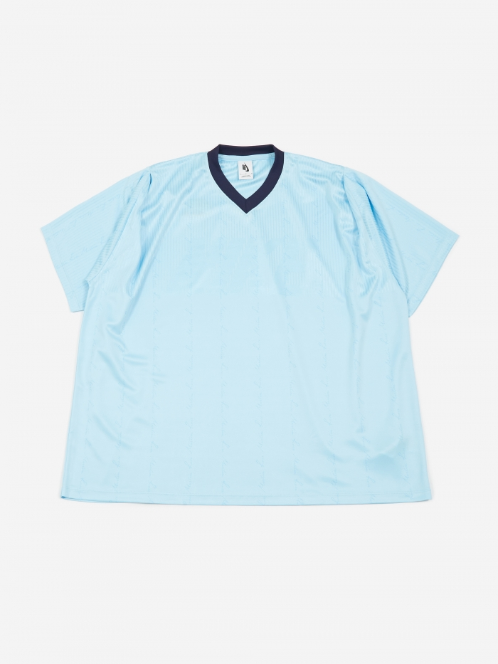 Nike x Martine Rose Tee - Blue Chill (Image 1)