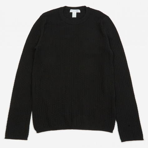 Knitted Pullover - Black
