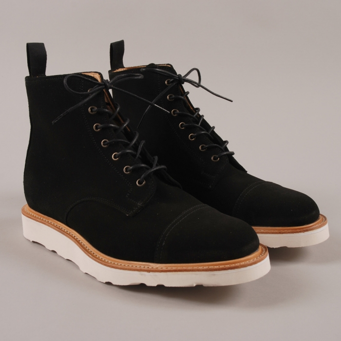 Mark McNairy Derby Boot - Black (Image 1)