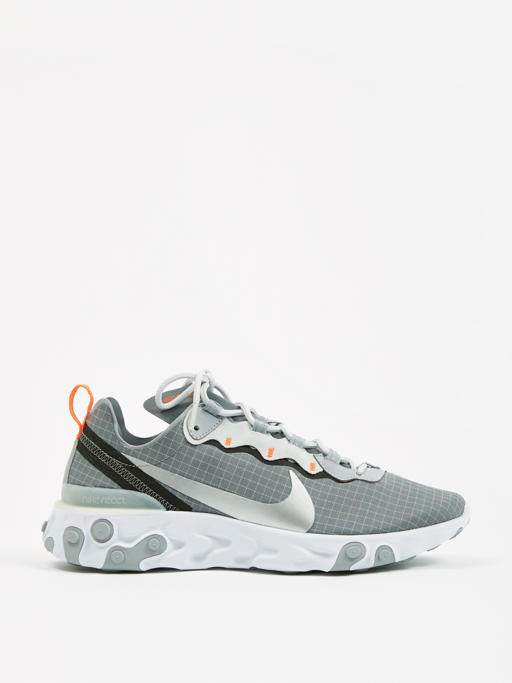 37fdcdfc6fcc Nike React Element 55 - Cool Grey Metallic Silver-Hyper Crimson (Image 1
