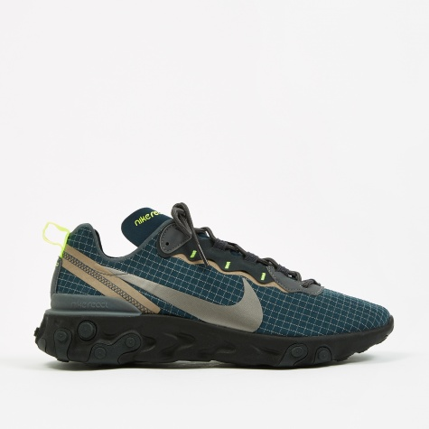 React Element 55 - Armory Navy/MTLC Dark Grey-Volt