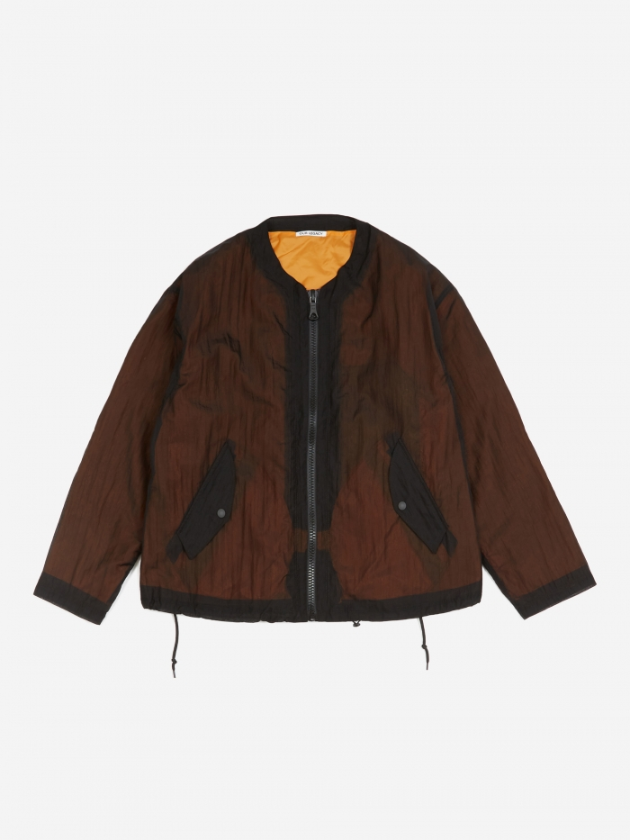 Our Legacy Shell Bomber Jacket - Black (Image 1)