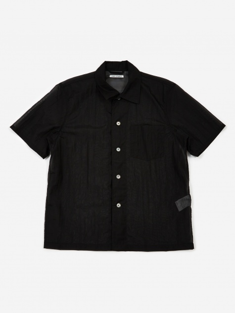Box Short Sleeve Shirt - Black