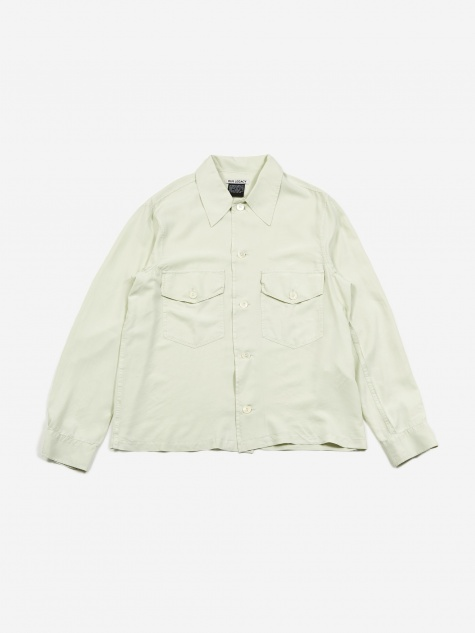 Loan Jacket - Translucent Dirt White