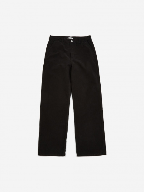 Commando Trouser - Black Moleskin