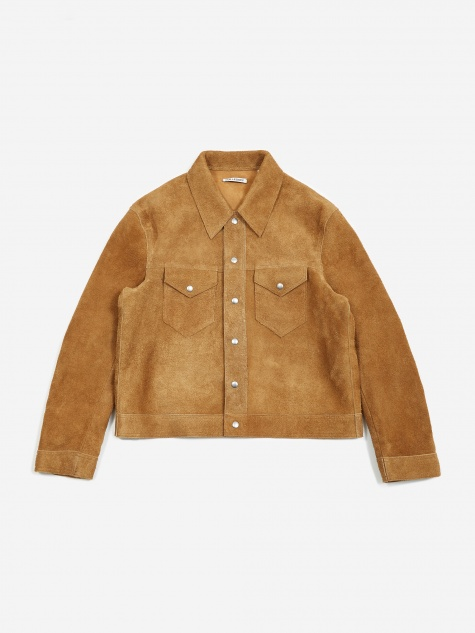 Blacksmith Jacket - Sand Suede