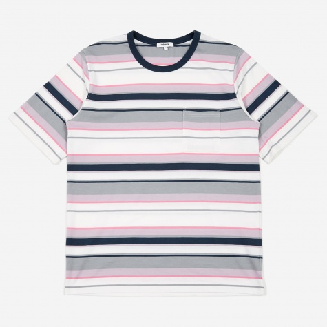 Tres Bien Striped Volume T-Shirt - Downtown