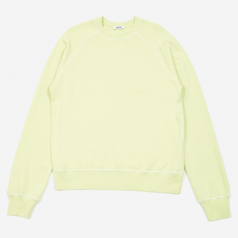 Tres Bien Overdye Sweater - Luminary Green