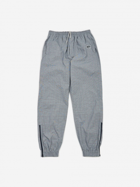 Tres Bien Warm Up Trouser - Blue Check