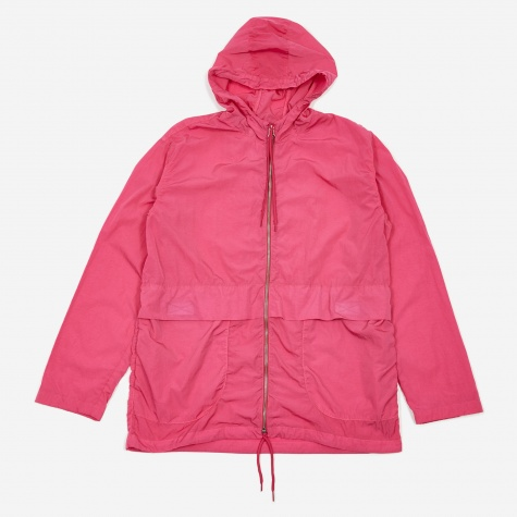 Tres Bien Simple Tech Overdye Parka- Azalea Pink