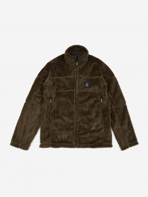 Tres Bien Haglöfs Epic Teddy Jacket - Deep Woods