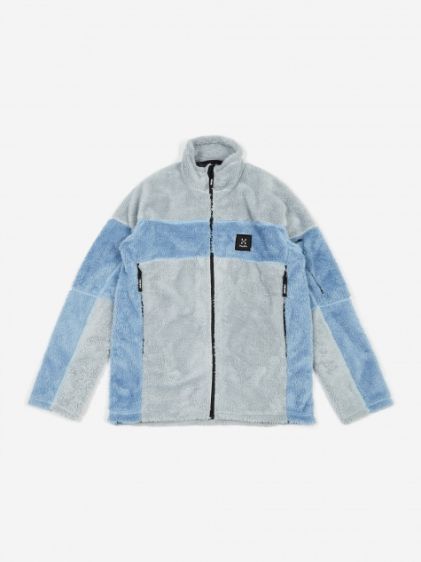 Tres Bien Haglöfs Epic Teddy Jacket - Faded Denm/Atlantis
