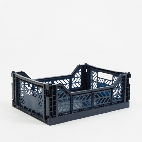 Colour Crate Medium - Navy