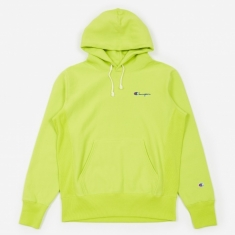 Champion Reverse Weave Hooded Sweatshirt - Lime