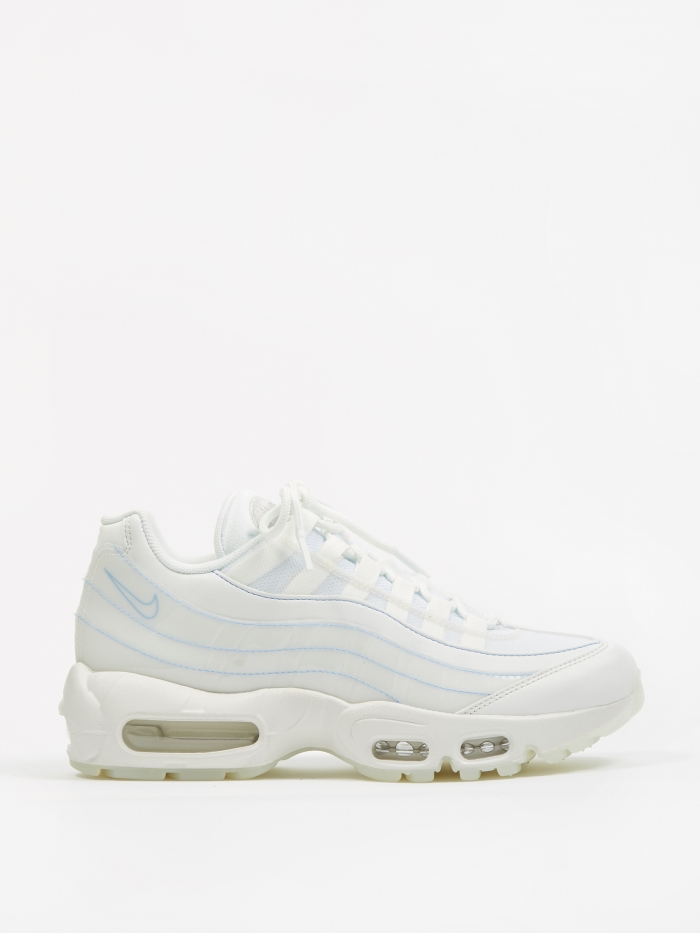 Nike Womens Air Max 95 SE Shoe - Summit White/Summit White (Image 1)