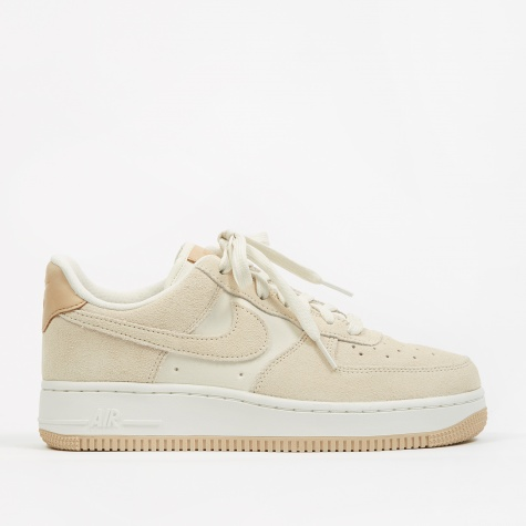 Womens Air Force 1 07 Premium Shoe - Pale Ivory