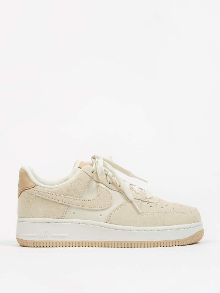 Nike Womens Air Force 1 07 Premium Shoe - Pale Ivory (Image 1)