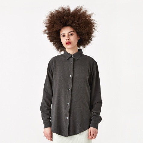 Line Shirt - Forest Black