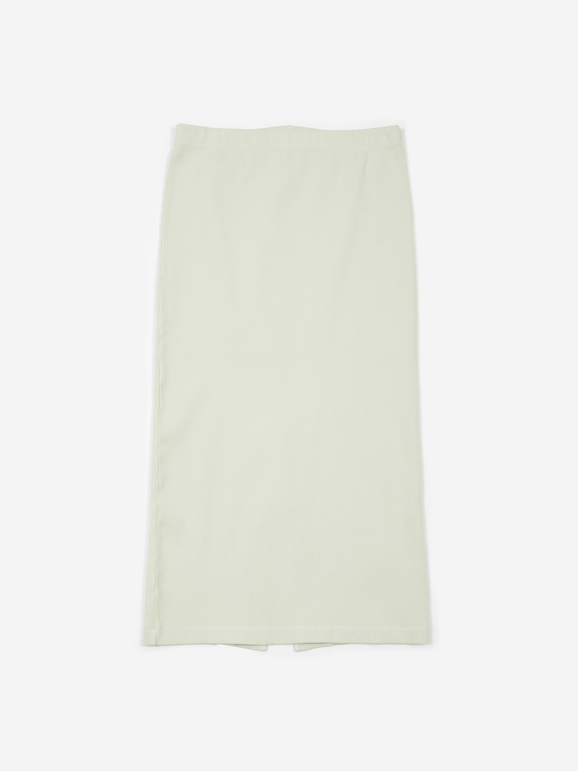 2492556d21 Our Legacy Rib Tube Skirt - Translucent White